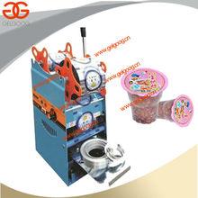 Automatic Plastic Cup Sealing Machine|Tapioca Pearl Milk Cup Sealer Machine