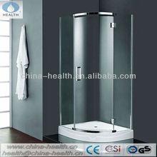 Chrome finish shower room