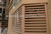 Wpc panneaux de bardage/wpc panneau mural intérieur/wpc extérieur panneau