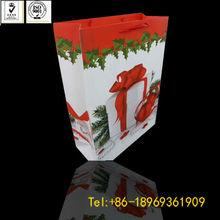 art paper packaging christmas bag