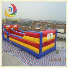 RLSG061 Inflatable Bungee Run with Basketball Hoop