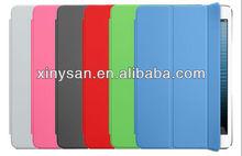 High Quality Smart Cover for ipad mini,Slim Magnetic Leather Case for Ipad mini- wake/sleep function