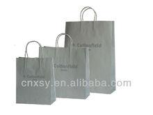 Custom made shopping paper bag