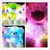 Glow plush t bear toy with LED light