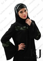 2013 Modesty New Design Khaliji Abaya Sleeves Designs 5392