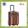 algeria trolley with press button luggage bag on wheel