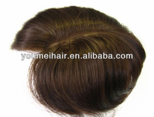 Wholesale Indian remy hair toupee