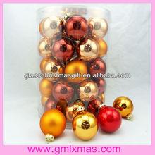 Economy Family Love Pack Christmas Glass Ball