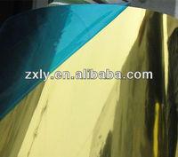 gold color lacquer paint aluminum