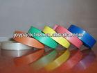 Flexible plastic strap
