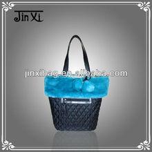 Ladies stylish shoulder bag hot selling in winter