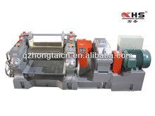 Reclaimed rubber open type roll mill