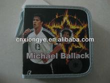 Impression de bande dessinée de carton cd wallet
