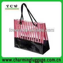 Trendy Heat Sealing PVC Shopping Bag,plastic shopping bag