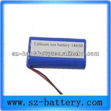 High capacity 5200MAH 3.7v li-ion 18650 rechargeable battery