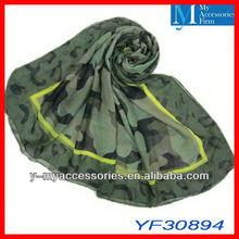 2013 military printed scarf wholesaler