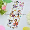 hot cartoon inchado adesivo adesivos decoração para crianças