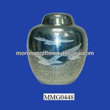 Adult dark cremation urn