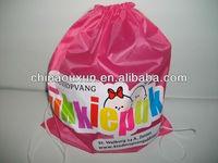 Most fashion polyester string bag,waterproof string bag