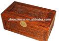 El árbol de alcanfor caja de madera, la belleza hecho a mano talla