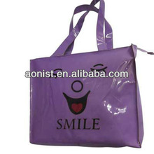 2013 Reflective purple shopping bag for bags wholesale