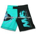 Atacado design personalizado mma shorts