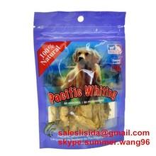 colorful printing custom made plastic dog food packaging bag