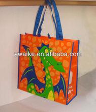 non woven lamination tote bag/ shopping bag