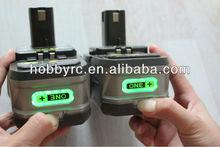 Ryobi 18V 2400mah For Ryobi battery power tools Good sale!