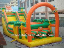 inflatables obstacle slide / inflatable bouncing slide/ offer inflatable slides