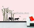 Woods road korean home decoration sticker adesivo parede wandsticker wandaufkleber sticker mural autocollant mural