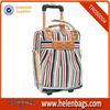 Colourful ladies durable waterproof lightweight travel trolley bag