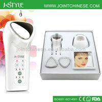 3 IN 1 Rechargeable IPL LED light photon galvanic microcurrent galvanic facial machine