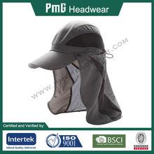 Sun Protection Cap / Removable Neck Guard Cap / Anti-UV UPF 50+