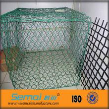 gabion 6mm box wire mesh/ lowest price chicken wire (Factory Prices)