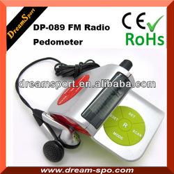 FM Scan Pedometer Radio