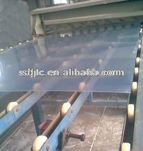 Rigid transparent PVC sheet for binding cover