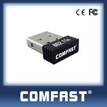 802.11B/G/N 150Mbps Mini Wireless USB LAN card