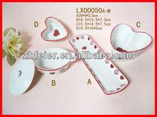 super white ceramic bakeware/dinnerware/plate