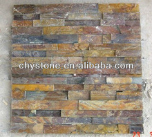 cultured stone for exterior wall,natural rusty rockface cultured stone