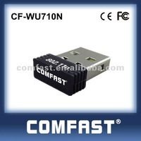 High quality COMFAST 150Mbps Wi-Fi Mini USB 2.0 IEEE 802.11G/B/N Wireless N Network Lan Adapter