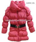 NEW ARRIVAL FASHION CUTE DESIGN WINTER PADDING GIRL JACKET