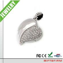 Hot!!! Factory Heart Jewelry Diamond Usb flash drive /Usb Stick