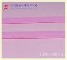 LJ000389-13 shoulder tape for bra pink 13mm spandex nylon knitted elastic webbing