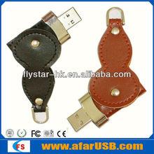 NEW Genuine Black leather 64GB USB 2.0 Memory Stick Flash Pen Drive, leather usb flash