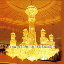hotel large gold chandelier AQ7004