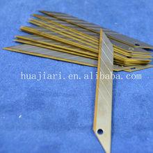 carbon steel SK2 Cutter knife blade/ snap-off blade/ utility knife blades manufacture