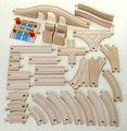 2013 juguete de madera piezas del tren