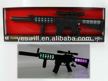 B/O toy gun with music,shake,infrared and flashlight