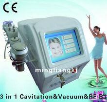 2013 professional 5 handles powerful ultrasound cavitation & rf slimming